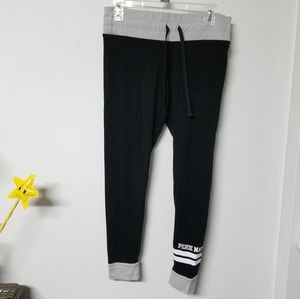 RARE COMFY VS Black PINK NATION leggings M